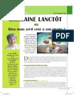 Rencontre avec Ghislaine Lanctôt