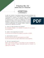 Práctica No. 02