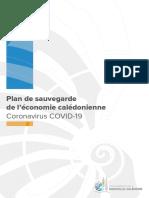Brochure Plan de sauvegarde de l'économie Covid 19