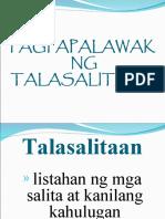 Pagpapalawak ng Talasalitaan
