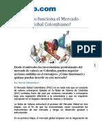 Como Funciona El Nuevo Mercado Global Colombiano