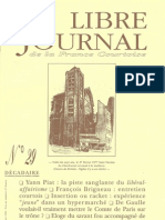 Libre Journal de la France Courtoise N°029