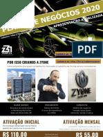 ZYONE COSMÉTICOS © APRESENTAÇÃO DO PLANO DE NEGÓCIOS OFICIAL 2020 | LANÇAMENTO  ZYONE FOR ALL  PLANO EM PDF