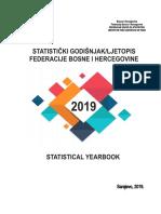 Statistički godišnjak/ljetopis Federacije BiH 2019