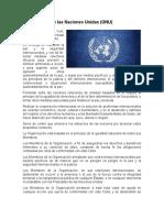 Organismos Internacionales vinculados con el desarrollo sustentable