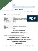 LEY FOGUAMA ACUERDO GUBERNATIVO NUMERO 195-97