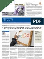 080228 - DIARI DE TARRAGONA - Entrevista Alfons Pich