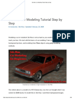3ds Max Car Modeling Tutorial Step by Step