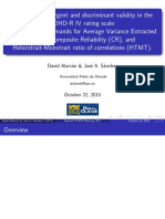 Convergent Validity With Average Variance