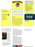 Trifold Presentation Only)