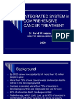 Integrated System In Comprehensive Cancer Treatment