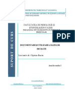 PLR3207 - Documentarea si utilizarea bazelor de date