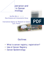 Cancer Registration and its Role in Cancer Epidemiology