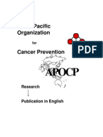 Asian Pacific Organization for Cancer Prevention (APOCP)