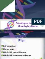 Génétique formelle. Monohybridisme