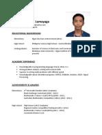 Resume-Edd-Lumayaga