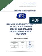 CIBNOR 2017_Manual-Procedimientos_OGMs