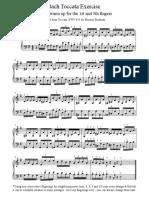 Bach Toccata Exercise (914)
