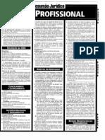 Resumao Juridico - Estatuto OAB e Etica Profissional