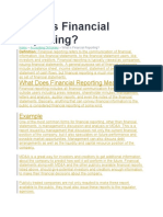 What is Financial Reporting.docx
