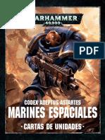 Codex Marines Espaciales - Cartas de Unidades.pdf