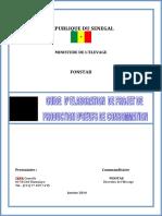GUIDE DELABORATION DE PROJET DE PRODUCTION DOEUFS VF
