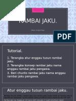 Rambai Jaku PPISMP BIB1054