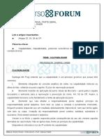 Direito Penal_Parte Geral - Culpabilidade