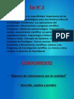 2 - Epistemología - Esther Díaz y A. Comte