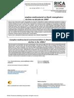 Boeira - Ambientalismo complexo-multissetorial no Brasil