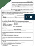 VBA 21 0960Q 1 ARE Chronic Fatigue Syndrome
