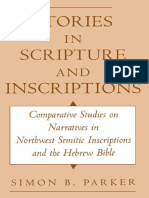 Simon Parker - Stories in Scripture and Inscriptions_ Comparative Studies on Narratives in Northwest Semitic Inscriptions and the Hebrew Bible-Oxford University Press, USA (1997).pdf