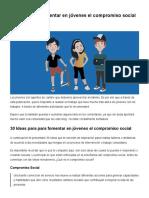 30 ideas para fomentar en jóvenes el compromiso social.pdf