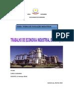 Trabalho DE Economia industrial