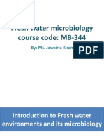 01. fresh water environments and its microbiology