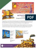 Goodnight Goodnight Construction Site Activity Kit