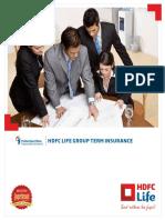HDFC Group Term Insurance.pdf