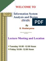 INFOSAD Lecture 1.ppt