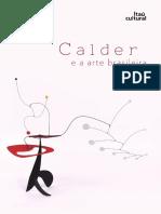 Calder e a arte