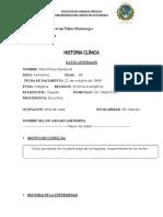 histotia clinica Mujer