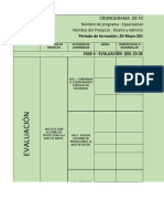 Cronograma Fase 4 Evaluacion