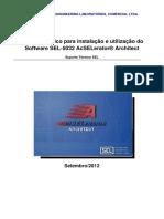 Guia prático para instalação e utilização do Software SEL-5032 AcSELerator Architect