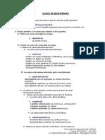 Clave de bioformas