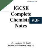 IGCSE Chemistry Notes.pdf