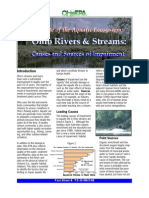 State of Ohio Rivers and Streams