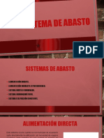 SISTEMA DE ABASTO
