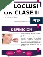 MALOCLUSION CLASE II. ORTOPEDIA  copia.pptx