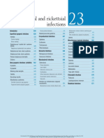 Bacterial and Rickettsial Infections