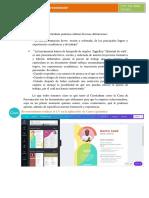 Cómo hacer una carta de presentación y CV_2019