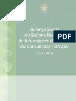 Balanço Sindec 2010